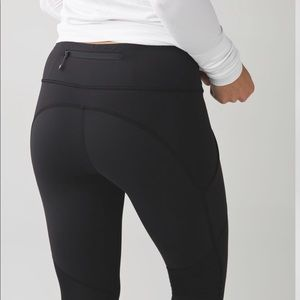 lululemon athletica Pants - Black lululemon Speed crop 6